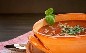 Meksikietiška sriuba su mėsos kukuliais