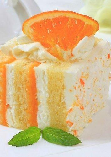 Gaivus apelsininis tortas